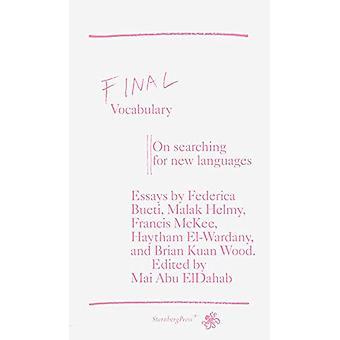 Final Vocabulary by Mai Abu ElDahab - 9783956791765 Book