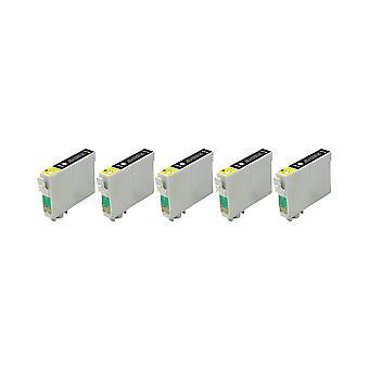 استبدال 5 x روديتوس لوحدة الحبر أبسون فرس البحر الأسود متوافق مع الصور ستايلس R200، R220، R300، R300M، R320، R325، R330، R340، R350، RX300، RX320، RX500، RX600، RX620، RX640
