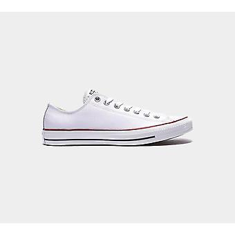 Converse Ct Ox White Leather Trainers Chaussures Chaussures 132173C Chaussures Boots