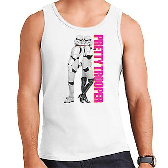 Original Stormtrooper Pretty Trooper Parody Men's Vest