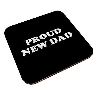 Proud New Dad Coaster