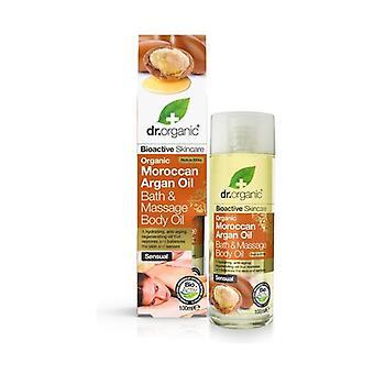 Organic Argan Bath Massage Body Oil, 100 ml - olio corpo bagno 100 ml of oil