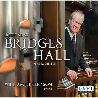 Bach, J.S. / Peterson - Recital in Bridges Hall [CD] USA import