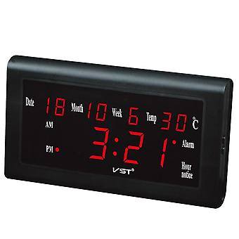 Vst st-5 12/24 Stunden Desktop-Uhr große Zahl lcd Anzeige Temperatur Datum Woche Monat Tabelle Uhr