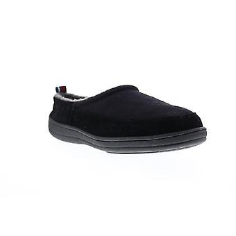 Ben Sherman Matt Clog  Mens Black Slippers Slip On Clogs Shoes