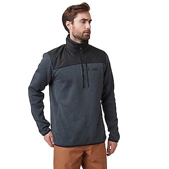 Helly Hansen Mens 2020 Varde 1/2 Zip Long Sleeve Comfort Knitted Fleece Sweater