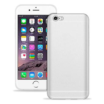 Soft Mobile Protection for Apple iPhone 6/6s Silicone Thin Mobile Phone White