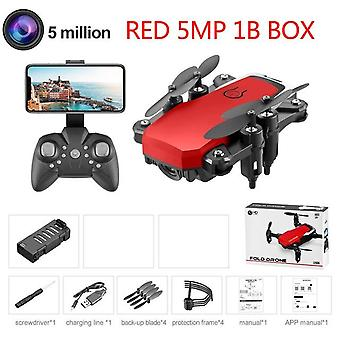 Djl Mini Drone Lf606 4k Hd Camera With Foldable Quadcopter One-key Return Fpv Drones Rc Helicopter Quadrocopter For Kid's Toys