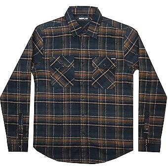 Replay Shirts Replay Check LS Shirt