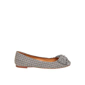 Tory Burch 76542264 Women's Multicolor Fabric Flats