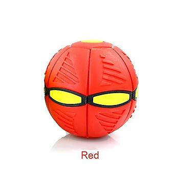 Outdoor Garden Beach Game Throw Disc Ball Toy Fancy Soft Novelty Flying Ufo Flat