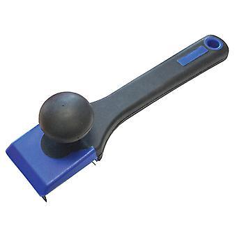 Faithfull Wood Scraper Soft-Grip 4-Sided Blade 62mm FAIWS624