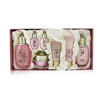 Whoo (The History Of Whoo) Gongjinhyang: Soo Vital Hydrating Set: Balancer (150ml +20ml) + Emulsion (110ml + 20ml) + Cream 20ml + Cleanser 40ml + Overnight Mask 30ml 7pcs