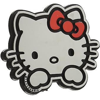 Hej Kitty Emblem Decal