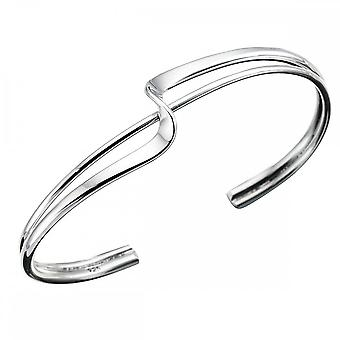 Beginnings Sterling Silver B431 Squiggle Bangle