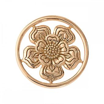 Nikki Lissoni Lovely Flower Small Gold Plated Coin C1028GS
