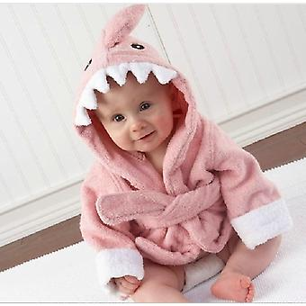 Spring Autumn Baby / Nightgown Cartoon Cute Hooded- Animal Towel Newborn