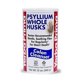 Yerba Prima Organic Psyllium Whole Husks, 12 OZ