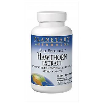 Planetary Herbals Full Spectrum Hawthorn Liquid Extract, 4 Fl Oz