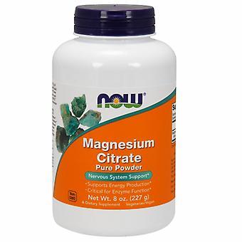 Jetzt Lebensmittel Magnesiumcitrat, POWDER, 8 OZ