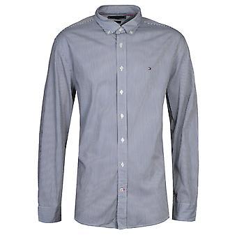 Tommy Hilfiger Blue Stripe Regular Fit Shirt