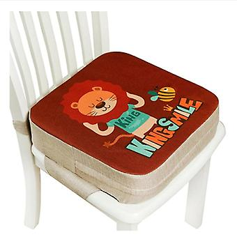 Children Increased Chair Pad Anti-skid Waterproof Dining Cushion Adjustable Chair Pad