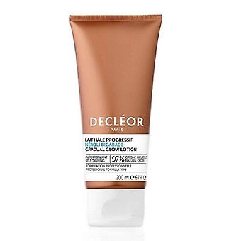 Decleor Confort Gradual Glow hidratante Leite 200ml