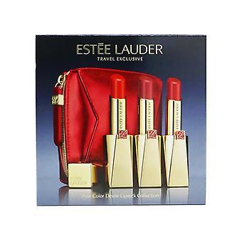 Estee Lauder Pure Color Desire Ruj Trio Set (3x Ruj) 3buc+1bag