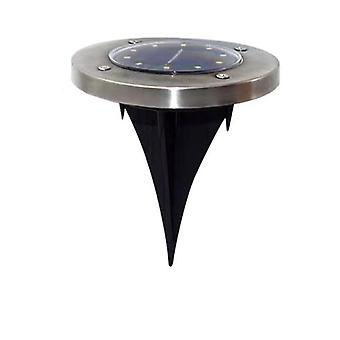 Stainless Steel Led, Ground Light With Light Sensor