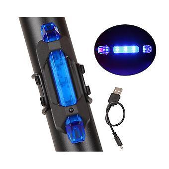 Rower Lekki Wodoodporny Tylne / ogonowe Światło LED USB Akumulator górski