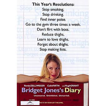 Bridget Joness Diary Movie Poster (11 x 17)