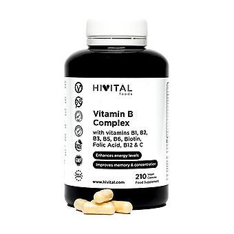Vitamin B Complex 210 capsules