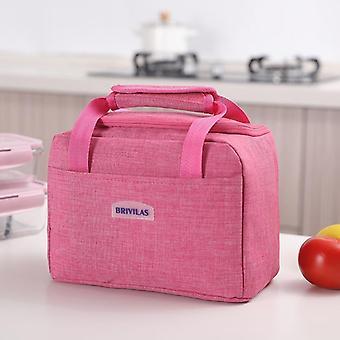 Borsa/scatola portatile termicamente isolata per il pranzo, borsa Bento tote cooler