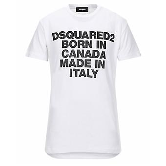 Dsquared2 Born In Canada Cool Fit White T-Shirt
