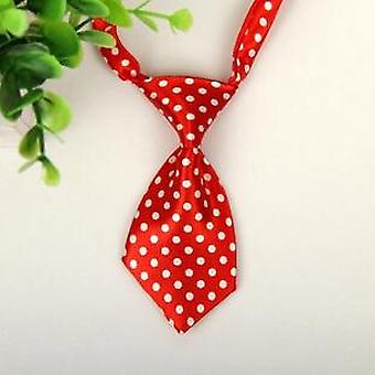 Animal Fashion Formal Polyester Bow Tie, Dog Cat Classical Striped Bow Ties
