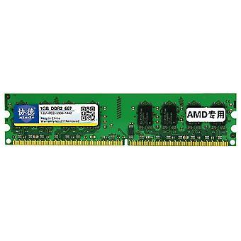 XIEDE X016 DDR2 667MHz 1GB General AMD Special Strip Memory RAM Module for Desktop PC