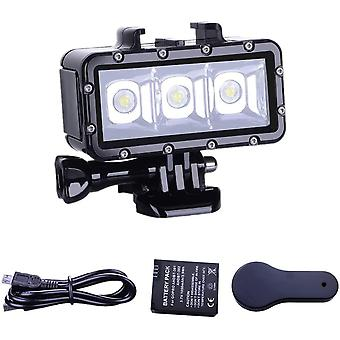Underwater diving light High Power Dimmable Waterproof LED Video Light