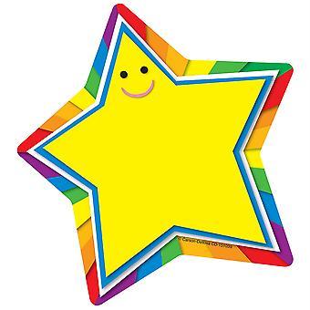 """Star Notepad, 5-3/4"""" X 6-1/4"""", 50 Feuilles"""