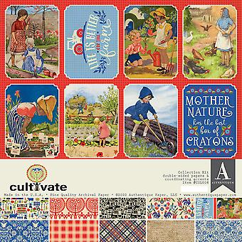 Authentique Cultivate 12x12 pulgadas Kit de colección
