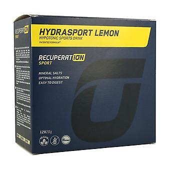 Recuperat-ion hydrasport (lemon flavor) 12 packets