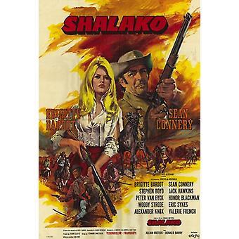 Poster do filme Shalako (11 x 17)