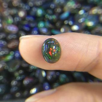 Природные эфиопские красочные драгоценные камни для 925 Стерлинг Серебряные ювелирные изделия