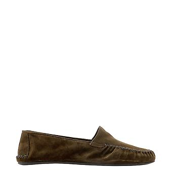 Farfalla Portcoffee Men's Brown Suede Loafers