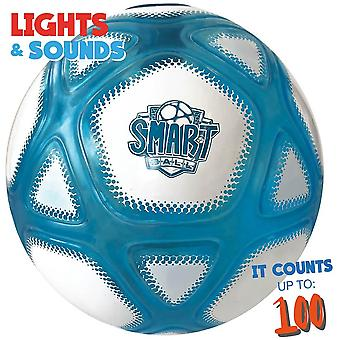 smart ball speed counter football with closed box with in-built sensor for ages