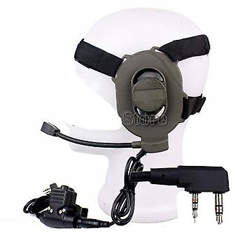 Tactical Bowman Elite Ii, Headset With 2 Pin, Ptt Cable Plug