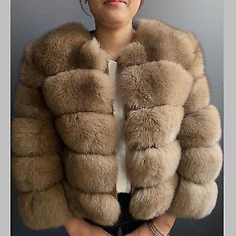 Winter Warm Leather Coat
