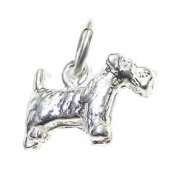 Scottie Scotty Hond Kleine Sterling Zilveren Charme .925 X 1 Scotts Honden Charms - 4565