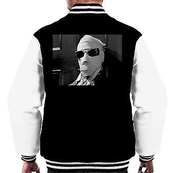Den osynlige mannen närvakare Men's Varsity Jacket