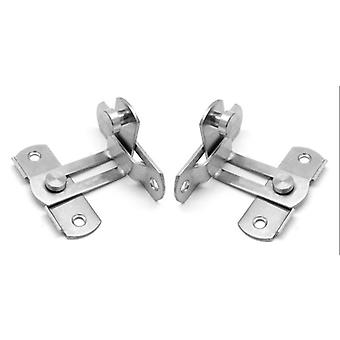 Stainless Steel Sliding Door Chain Lock, Cabinet Latch Catch, Clasp