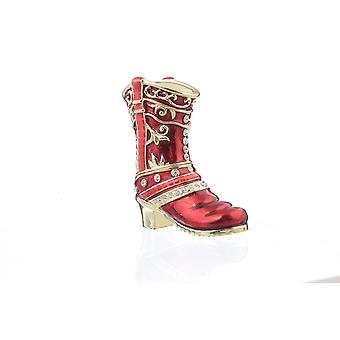Red Musketeer Shoe-trinket Box
